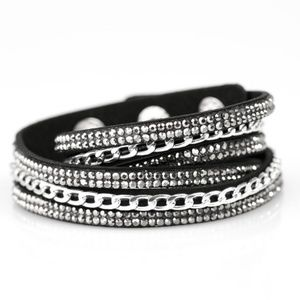 Bracelet or Choker - Put On Your Game Face Black